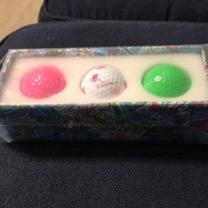 Lilly Pulitzer golf balls